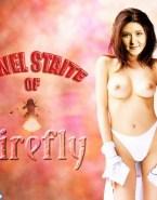 Jewel Staite Topless Fake 001