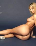 Kaley Cuoco Ass Sideboob Fake 005