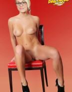 Kaley Cuoco Boobs Pussy Nude Fake 001