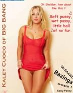 Kaley Cuoco Breasts Vagina Upskirt Nudes Fake 001