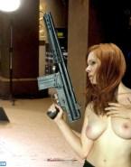 Karen Gillan Horny Hot Tits Nude Fake 001