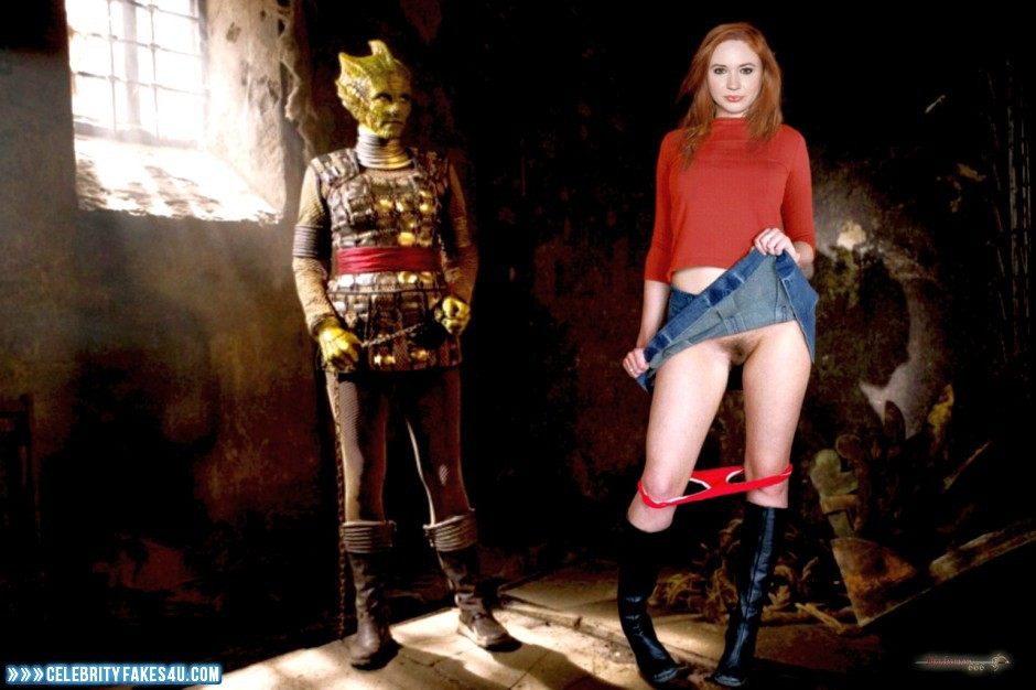 Doctor Who Porn - Karen Gillan Upskirt Pussy Doctor Who Porn Fake 001 ...