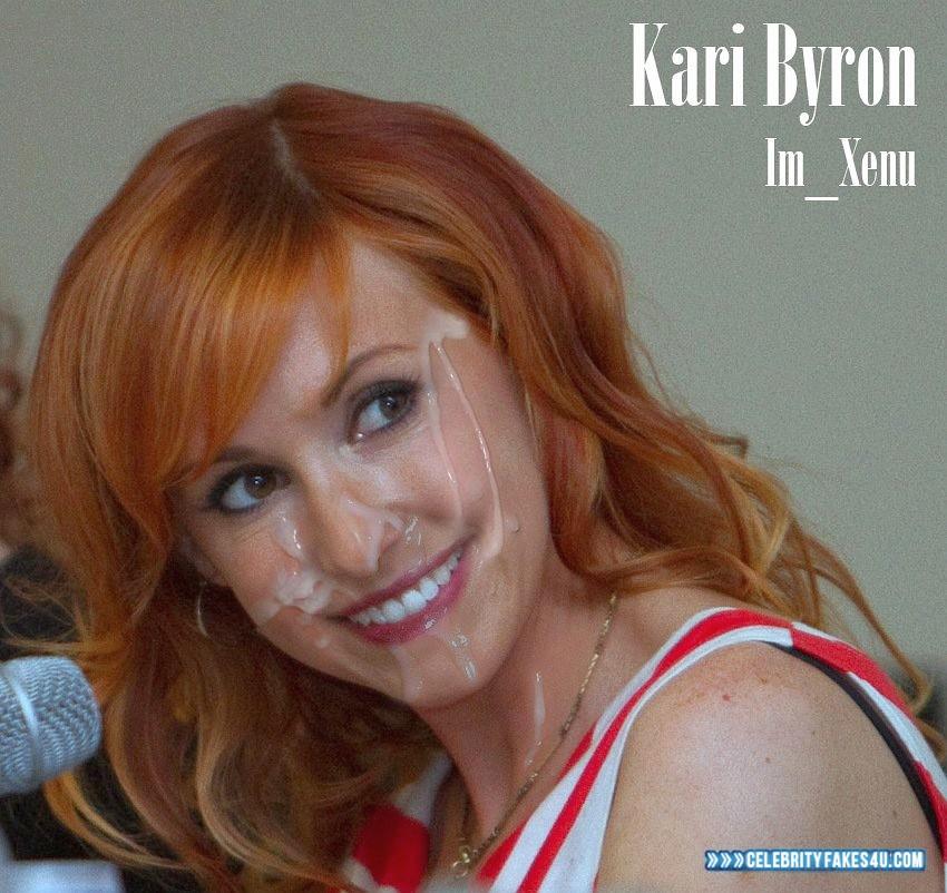 byron cum facial Kari