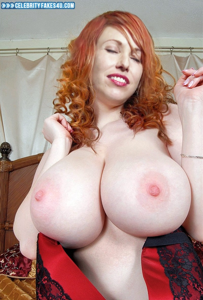 Kari Byron Huge Tits Public Fake 001  Celebrity Fakes 4U-5498