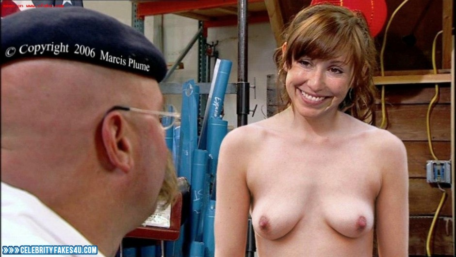 Kari Byron Topless Mythbusters Nsfw Fake 001  Celebrity -4700