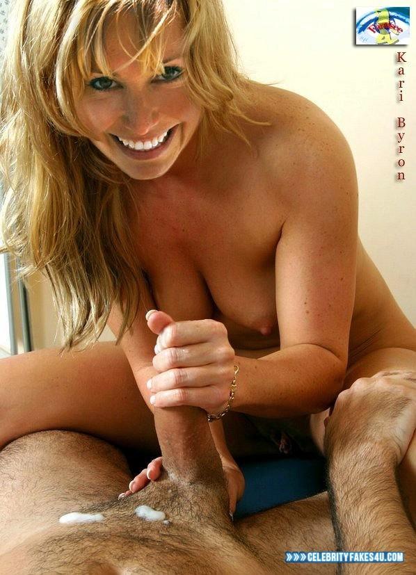 Kari Byron Cumshot Handjob Naked Sex Fake 001 -5603
