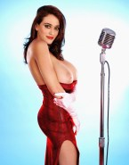 Kat Dennings Hot Outfit Big Tits Xxx Fake 001