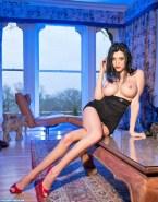 Kat Dennings Legs Big Tits Nude Fake 001