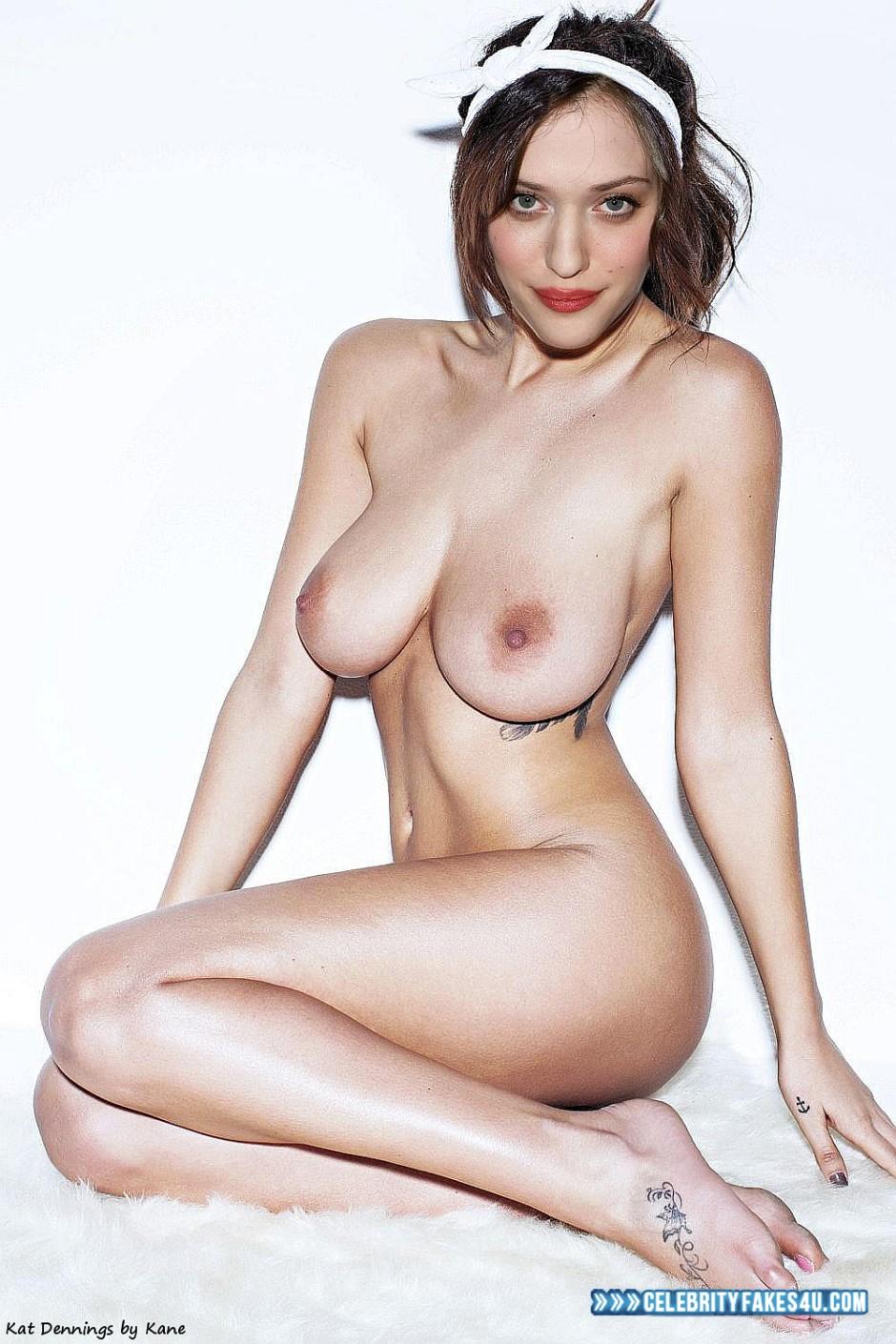 Nackt fotos dennings kat Nude Celebs