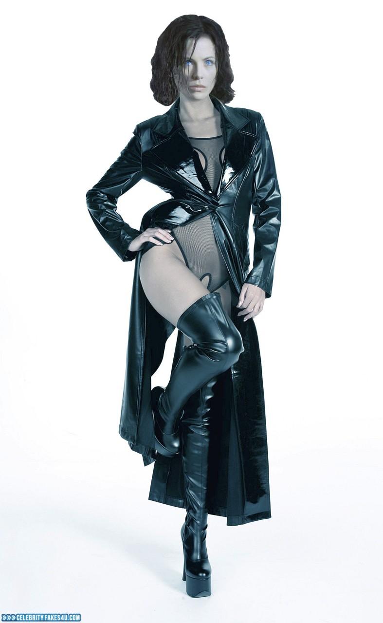 Kate Beckinsale Fake, Hot Outfit, Underworld (Film Series), Porn