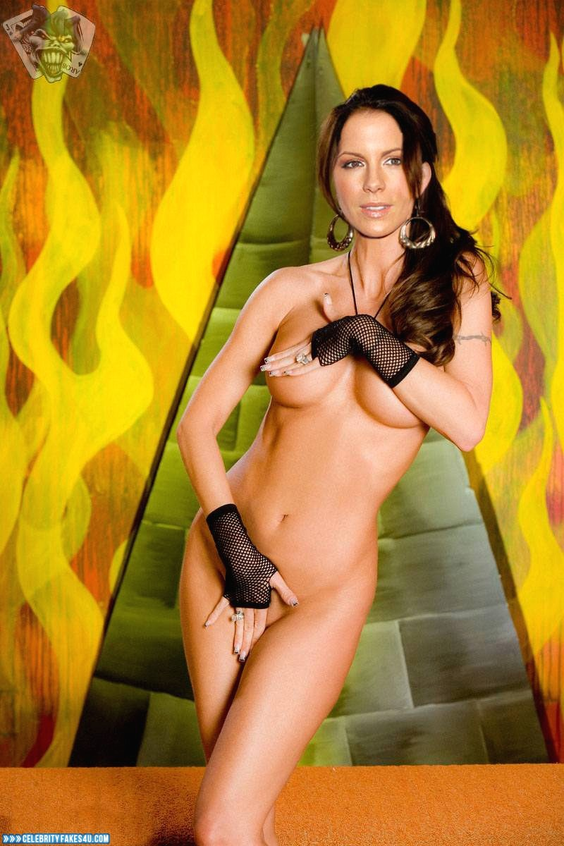 Kate Beckinsale Fake, Naked Body, Squeezing Breasts, Porn