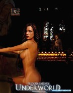 Kate Beckinsale Sideboob Underworld Nude 001