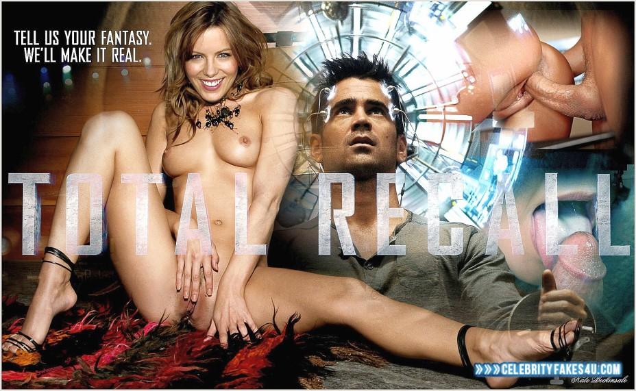 Kate Beckinsale Fake, Legs Spread, Masturbating, Total Recall (Film), Very Nice Tits, Porn