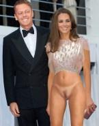 Kate Middleton No Panties Public Naked 001