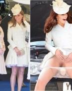 Kate Middleton Panties Aside Public Nsfw 001