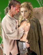 Katheryn Winnick Horny Squeezing Tits Naked Fake 001