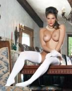 Katheryn Winnick Stockings Big Tits Naked Fake 001