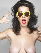 Katy Perry Glasses Topless Nsfw Fake 001