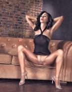 Katy Perry Stockings Horny Naked Fake 001