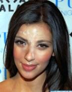 Kim Kardashian Cum Facial Public Nude Fake 001