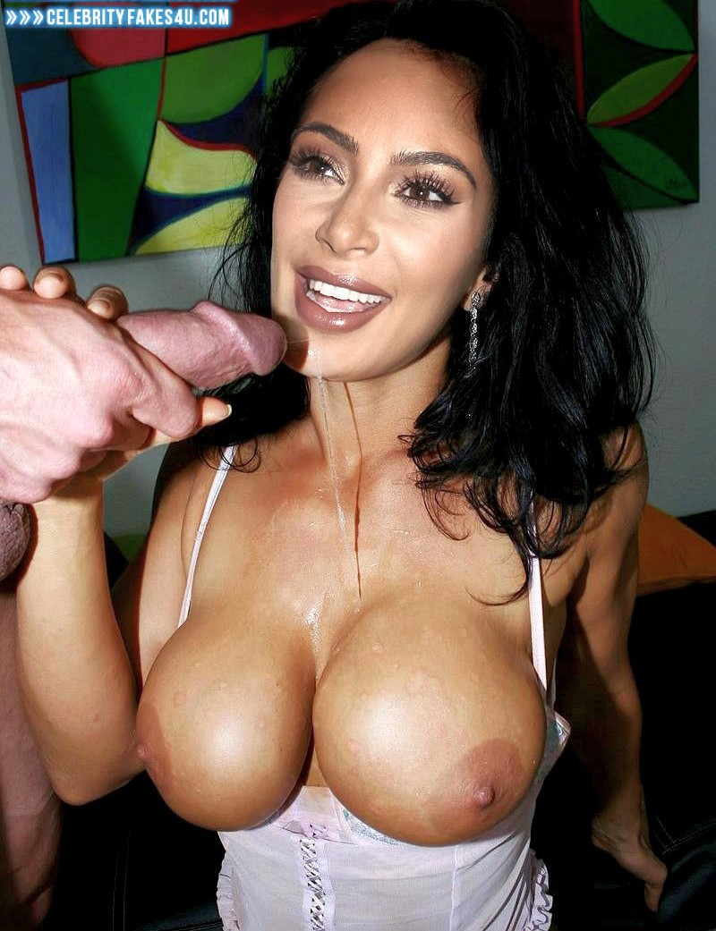 Can look Kim kardashian fake cum sorry
