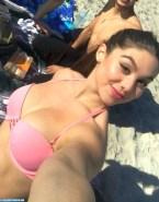 Kira Kosarin Selfie Beach Naked 001