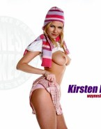 Kirsten Dunst Horny Tits Nude Fake 001
