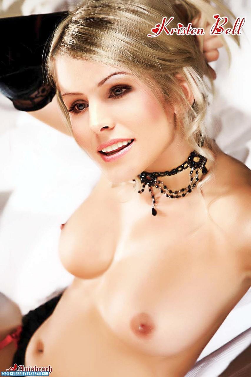 Kristen Bell Fake, Tits, Porn