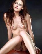 Kristen Stewart Boobs Pussy Naked Fake 001