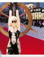 Lady Gaga Bondage Red Carpet Event Fakes 001