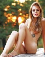 Laura Vandervoort Breasts Vagina Nsfw Fake 001