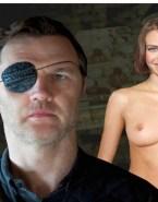 Lauren Cohan Breasts Walking Dead Fake 001