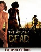 Lauren Cohan Nude Body Walking Dead Fake 001