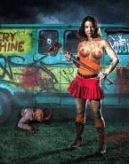 Lauren Cohan Skirt Walking Dead Fake 001