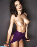 Leah Remini Exposed Breasts 001