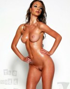 Leah Remini Wet Completely Naked Body 001