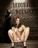 Leighton Meester Boobs Panties Down Fake 001