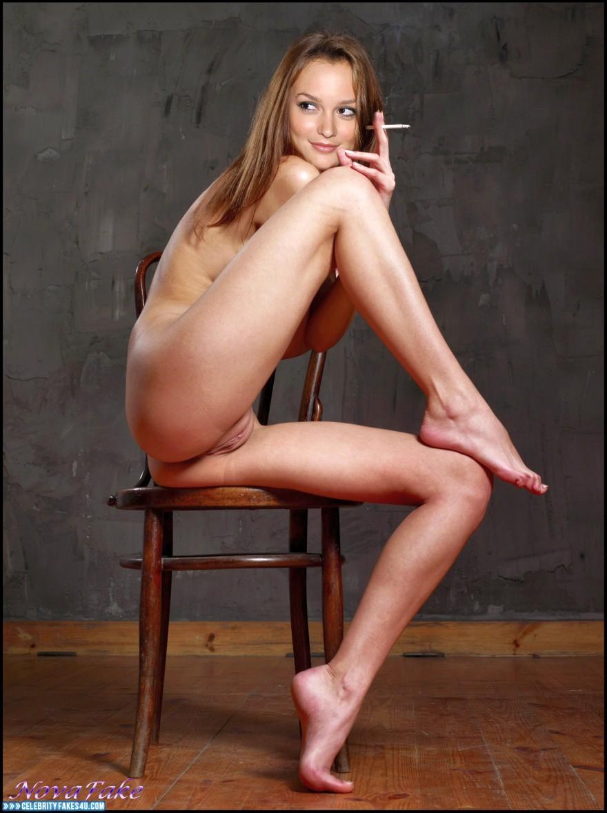 Meester nude fakes leighton