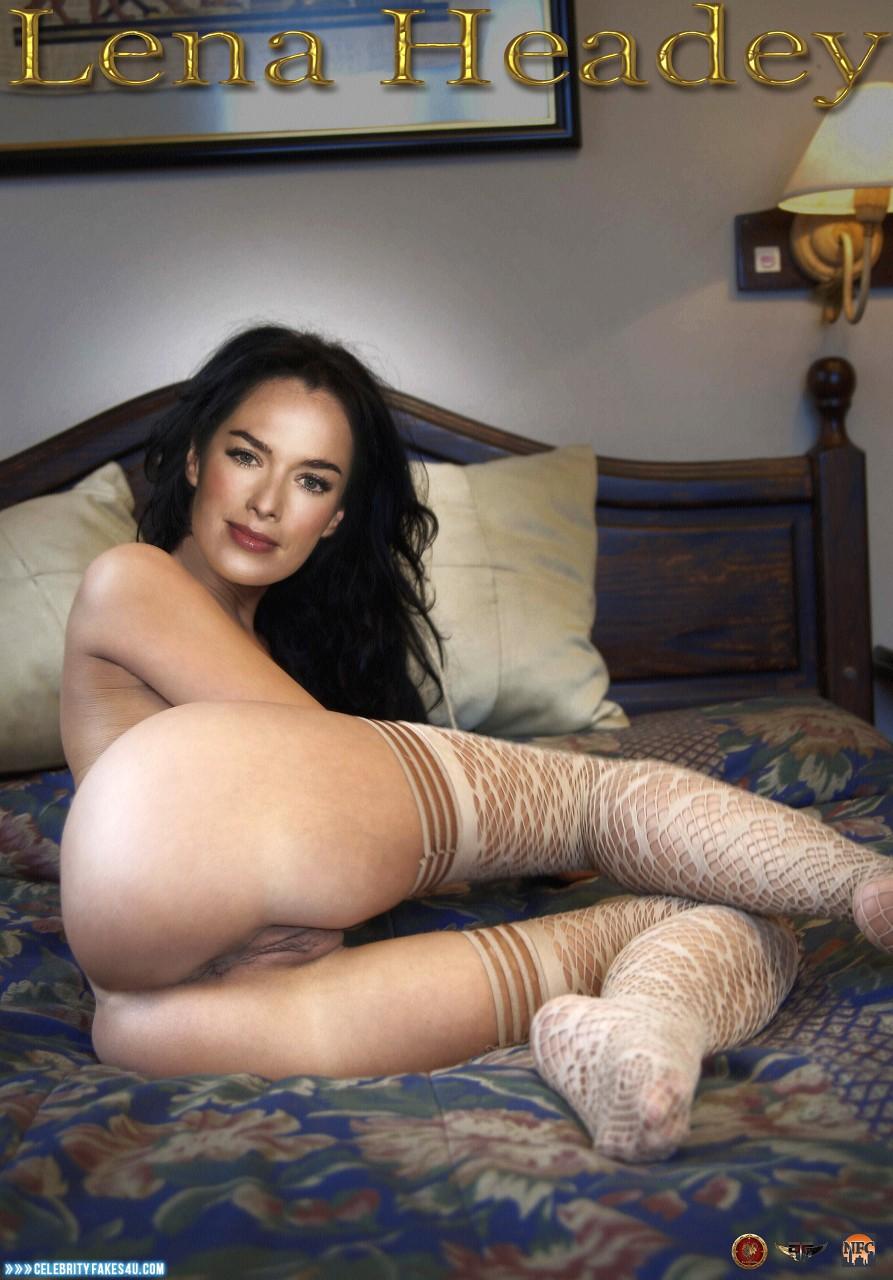 Lena Headey Fake, Ass, Pussy, Stockings, Porn
