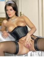 Letizia Ortiz Breasts Spread Pussy Nudes 001