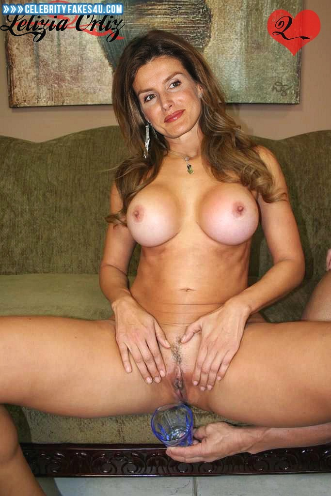 Letizia Ortiz Fake, Big Tits, Legs Spread, Porn