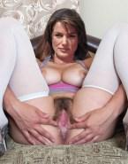 Letizia Ortiz Hairy Spread Pussy Naked 001