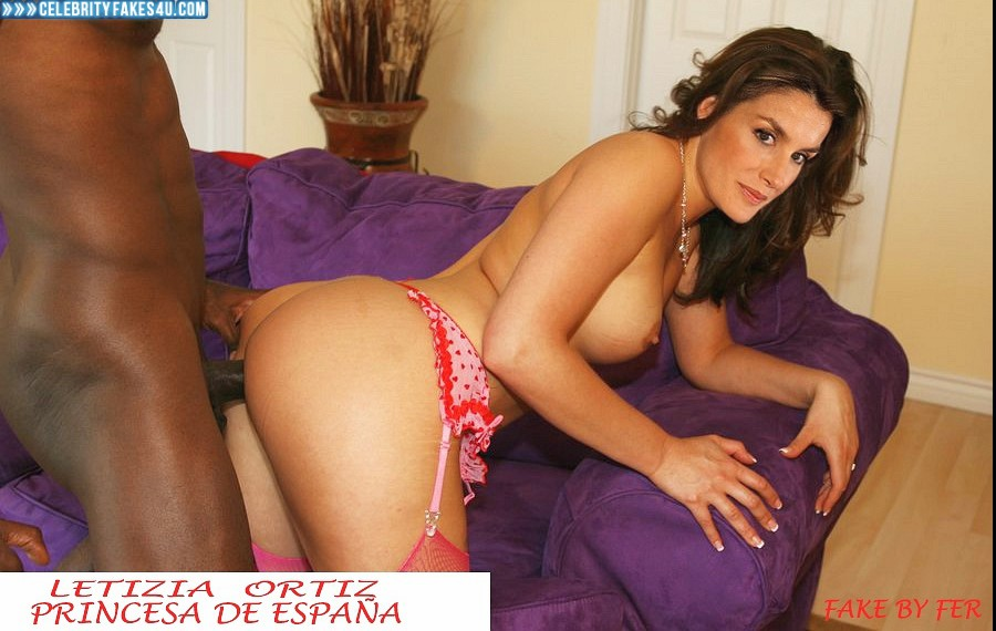 Letizia Ortiz Fake, Doggystyle Sex, Interracial Sex, Porn