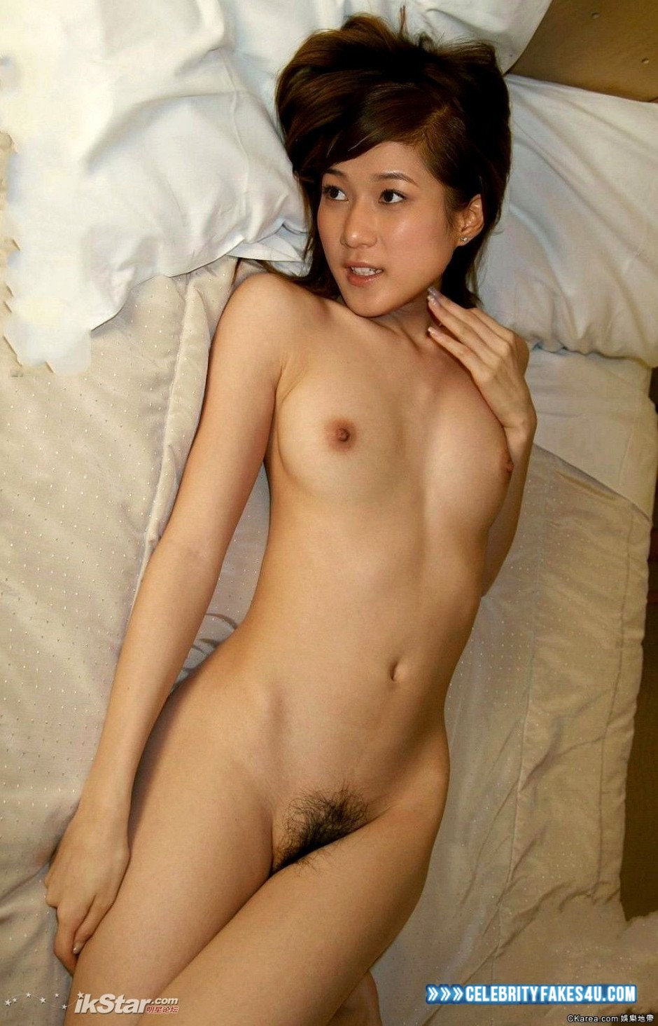 Linda Chung Homemade Hairy Pussy Porn Fake 001  Celebrity Fakes 4U-9599