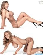 Lindsay Lohan Legs Nice Tits Fakes 001