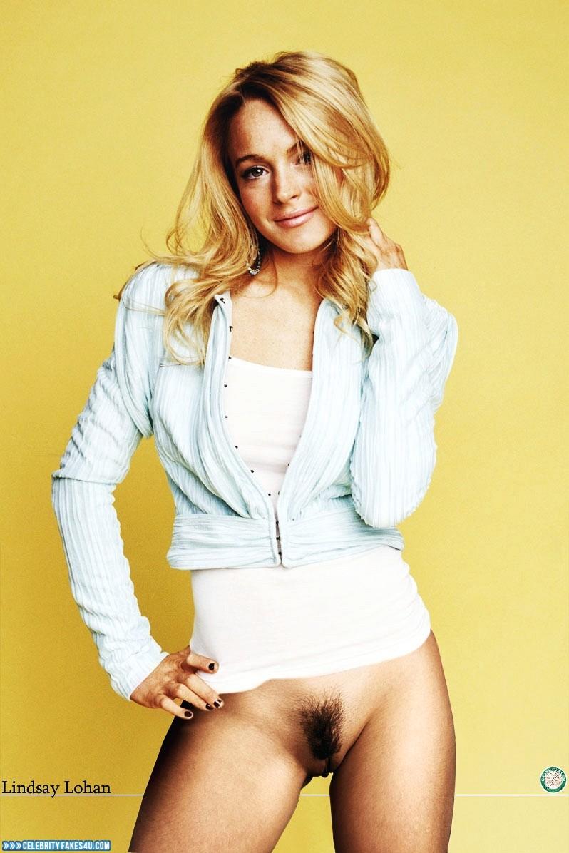 Lindsay Lohan Fake, Pantiless, Porn