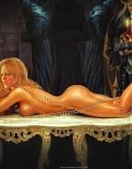 Lindsay Lohan Toon Bondage Fakes 002