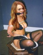 Lindsay Lohan Wardrobe Malfunction Homemade Leaked 001
