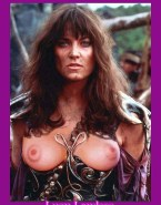 Lucy Lawless Breasts Xena Warrior Princess Fakes 001