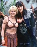 Lucy Lawless Tits Xena Warrior Princess 001